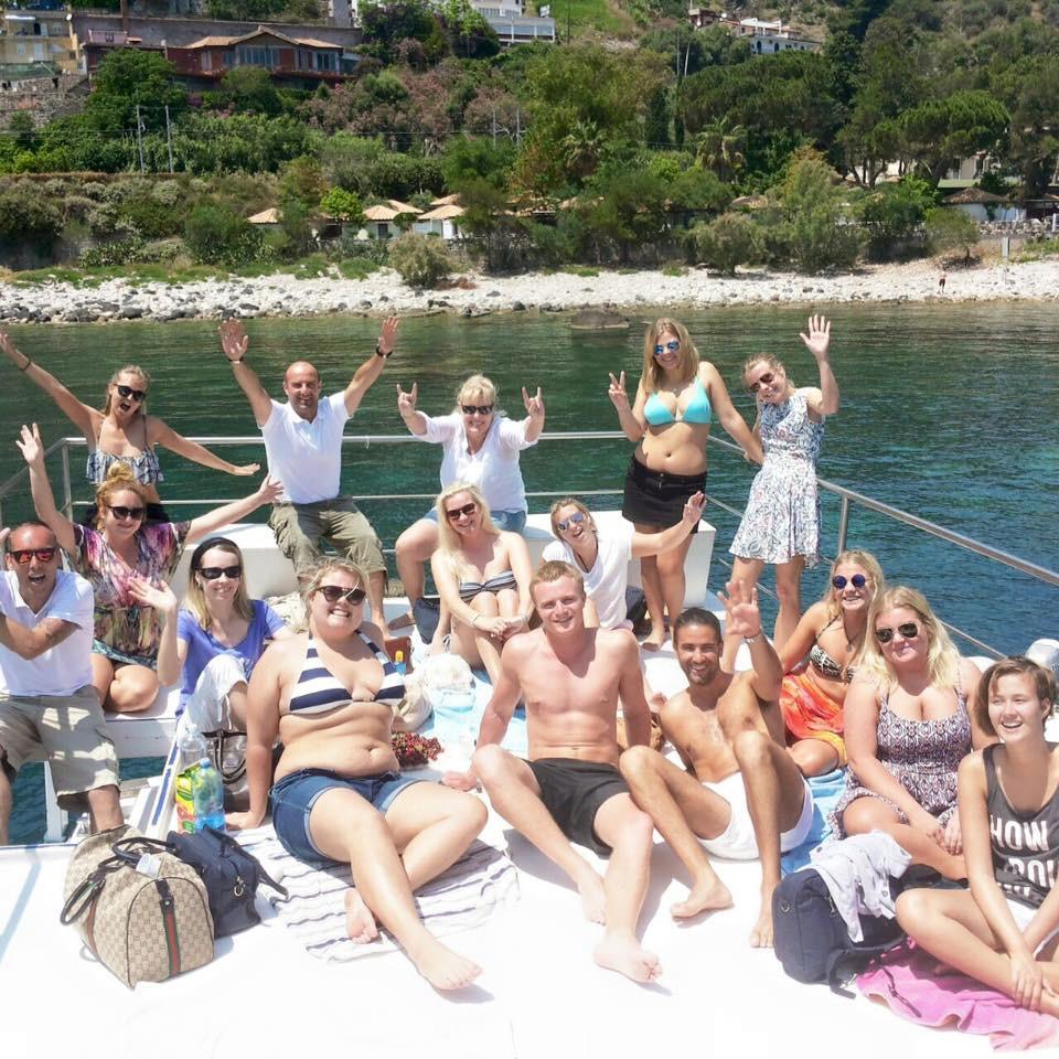 feste snorkeling gruppi