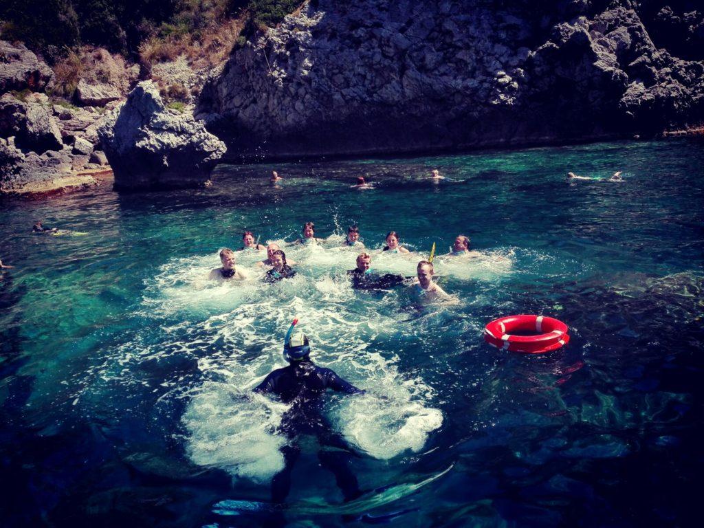 feste snorkeling