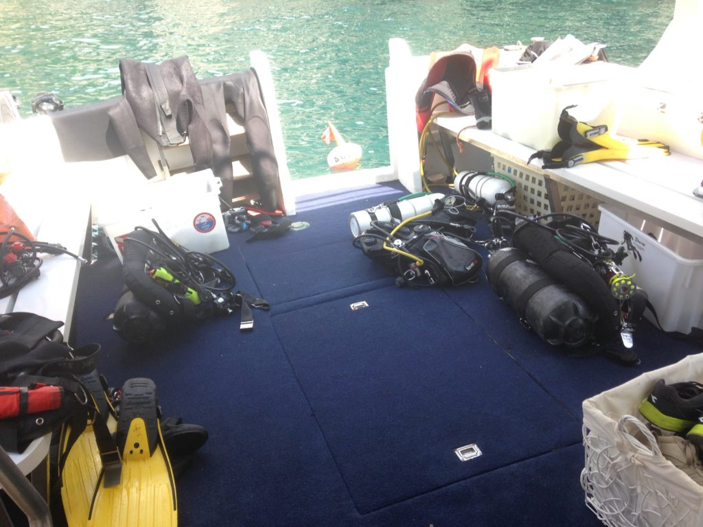 diving attrezzatura